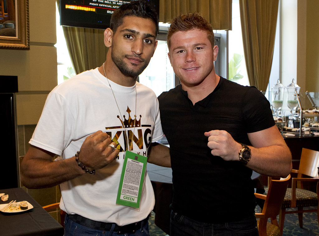 SURPRISE: Canelo Alvarez To Defend Middleweight Title Against Amir Khan May 7