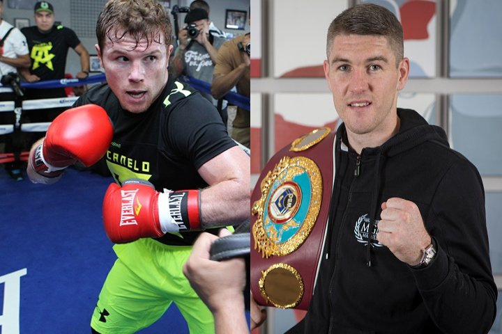 Watch Canelo Vs. Smith Weigh-In Live on Opening Round