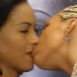 Watch: Boxing Star Cecilia Braekhus Kissed By Opponent ... During Face-Off