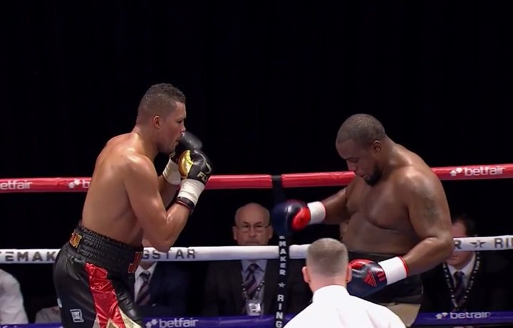 Joe Joyce Possible For Dec.17